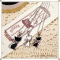 ○ 2サイズ ネコちゃんネックレス  2カラー ○