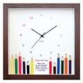 本物のえんぴつをディスプレイした小さめサイズで人気のインテリア時計♪DECLOCK/えんぴつシリーズ