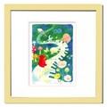優しい雰囲気で人気のアート♪ Ryo/Music Garden <ジグレー版画>