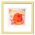 優しい雰囲気で人気のアート♪ Ryo/巣立ちの日 <ジグレー版画>