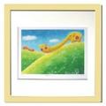 優しい雰囲気で人気のアート♪ Ryo/やまびこぞう <ジグレー版画>