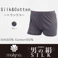 【男の絹】シルクコットン50/50トランクス