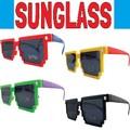 サングラス デジタル * 8ビット調のおもしろメガネです♪