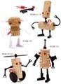 【アントレックス】コルクから生まれるスーパーロボット★【ロボットコルカー】4種♪
