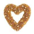 【インテリア・リース】<季節のリース>Wreath ハート Berry Yellow