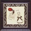 エミリー アダムス アートフレーム【ガーリーアート】ブラウン/香水・パヒューム<樹脂フレーム>