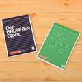 【BRUNNEN】ノートパッド Der Grune Block