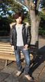 【冬物SALE】【決算特別SALE】ラムレザーフード付きジャケット 付属のファーは取り外し可能