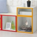 新生活【最高級ディスプレイボックス】【直送可】『IKO-BOX』 奥行き30 1M 標準タイプ
