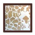 Wood Carving Art GIRAFFE/BR