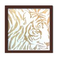Wood Carving Art TIGER/NA