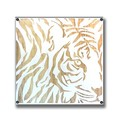 Wood Carving Art TIGER/AC