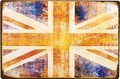 アンティークメタルプレート S[UK FLAG]