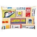 【プラレール】大好きな電車がいっぱい!子供用ピローケース(枕カバー)