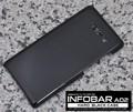 <オリジナル商品製作用>INFOBAR A02用ハードブラックケース