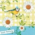 Paper+Designペーパーナフキン  (鳥×フラワー)
