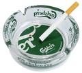 肉厚グラスにCarlsbergのロゴがバッチリ入った超カッコイイ灰皿!【カールスバーグガラスアシュトレイ】