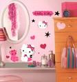 貼れる壁デコ!『RoomMates ハローキティ クチュール(HelloKitty Couture)』 -1202