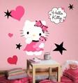 貼れる壁デコ!『RoomMates ハローキティ クチュール (Hello Kitty)』 -1202