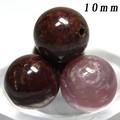 【天然石丸ビーズ】ルビー(2A) 10mm 1粒売り【天然石 パワーストーン】