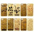 Woodケース iPhone 5 ディズニー【iPhone SE/5s/5対応】
