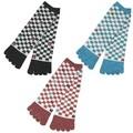■和紋 ロング丈 五本指靴下(紳士用)【3柄】