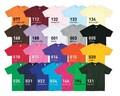 【S・M・L】ライトウェイトTシャツ/22色【オリジナル・ユニフォームにお勧め!】
