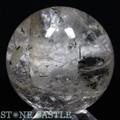 ☆高級一点物☆【天然石置き石】丸玉 約60mm ガーデンクォーツ No.24【天然石 パワーストーン】
