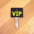 【SALE】ポップなデザインのキーカバー[VIP]【ロット10個】