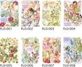 フラワーフェアリーズ ダイカット ポストカード (変型) Flower Fairies