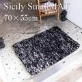 【SALE】Sicily smallmat シシリー スモールマット ブラック リサイクル繊維