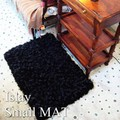 【SALE】islay smallmat アイラ スモール マット ブラック  リサイクル繊維