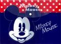 【ディズニーキャラクターが可愛い!便利なA4サイズ】ドキュメントファイル ミッキー&ミニー1