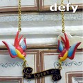 Defy(デフィー) LUCKYバードネックレス    デザイン/真鍮/レディース