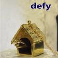 Defy(デフィー) バードハウスネックレス  デザイン/真鍮/レディース