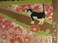 京都伝統の日本製 猫のタマの季節の小風呂敷 柄追加