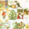 Paw Decor Collection ペーパーナプキン <クリスマス×猫>