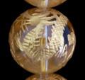 【30%OFF】【天然石 ビーズ】手彫り四神獣【オールインワン】水晶一連(金塗)
