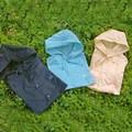 【特価】リボン刺繍レインコート<ベビー・キッズ><レイングッズ>入園入学