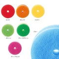 【7色全て入ってます!】POCOキッチンスポンジ リフィル7色セット