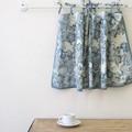 [カフェカーテン]お部屋の印象を変える・・個性的なデザイン