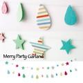 【一部即納可能】メリーパーティ ガーランド 【キッズ】【ポップ】【パーティ】