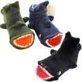 【定番】【日本製】【プラスチック足型入り】サメ足型入りPOP UPソックス<ベビー・キッズ>おすすめ