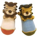 【定番】【日本製】【プラスチック足型入り】ライオン足型入りPOP UPソックス<ベビー・キッズ>おすすめ