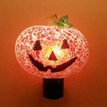 【GTS】 ナイトライト モザイクパンプキン <ハロウィン>