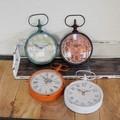 【♪SALE在庫限り♪】4型展開 アンティーク風の掛け時計