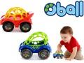 ラトル&ロール / ベビー 知育おもちゃ ラトルとミニカーの機能が一緒になったオーボール