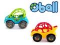 【仕様変更】ラトル&ロール / ベビー 知育おもちゃ ラトルとミニカーの機能が一緒になったオーボール