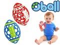 フットボール / ベビー 知育おもちゃ  持ちやすいラグビーボールかたち