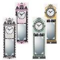 デコール ガラス クロック&ミラー【アンティーク】壁掛時計・壁掛ミラー<木製>